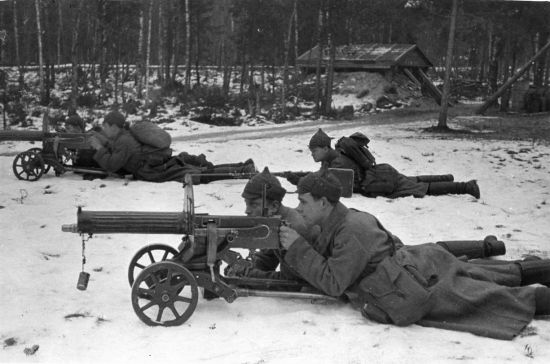 Станковый пулемет «Максим»