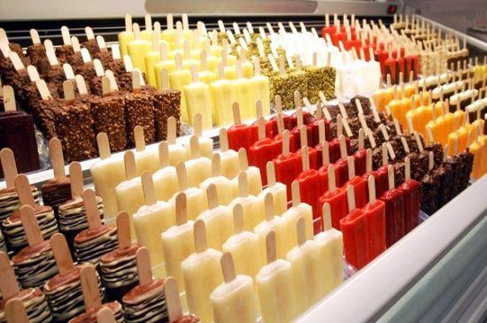 История создания мороженого
