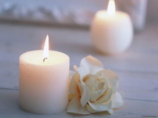 История возникновения свечи