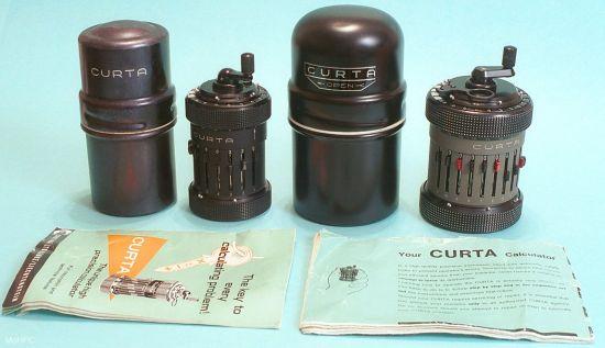 Карманный механический калькулятор Curta