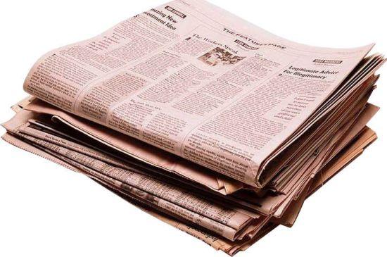 История газеты