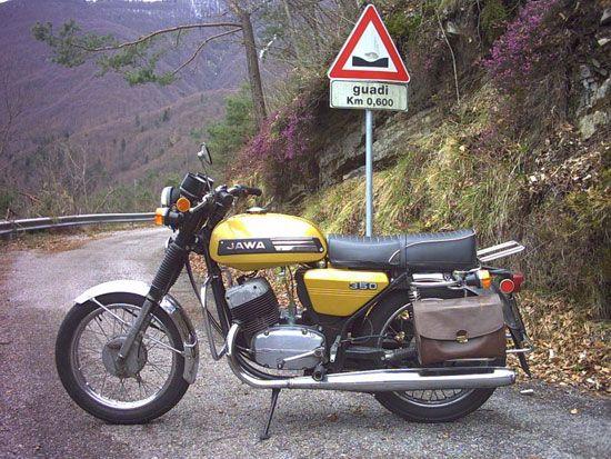 История мотоцикла «Ява»
