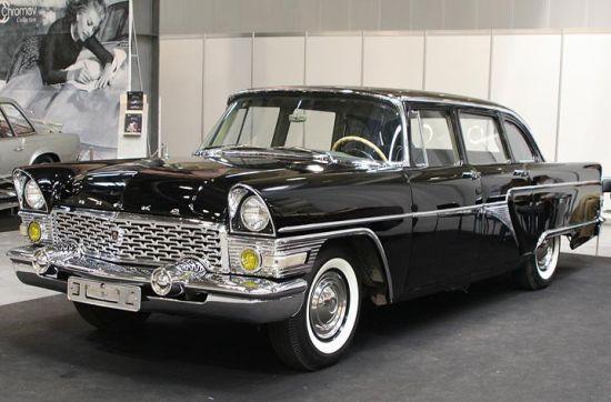 История автомобиля «Чайка»