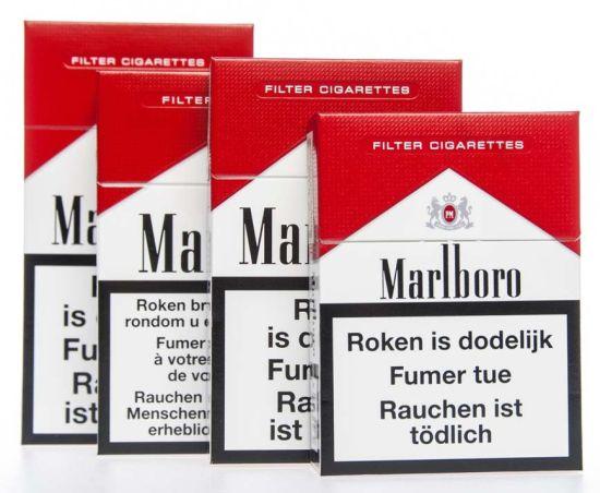 История сигаретной пачки