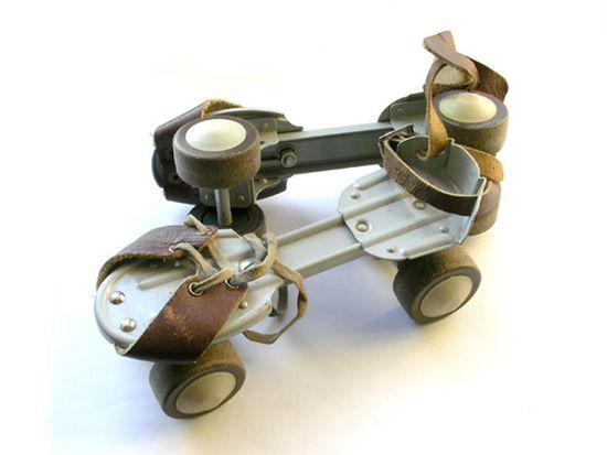 История роликовых коньков