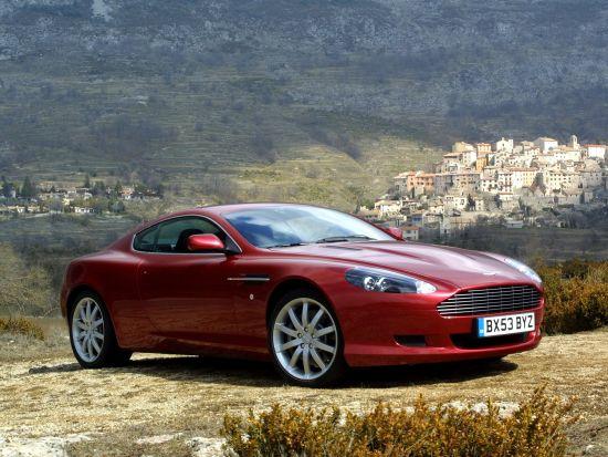 История Aston Martin DB9