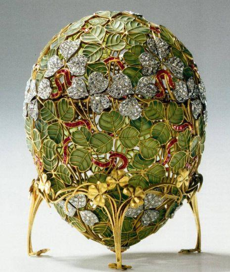 История яиц Фаберже