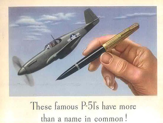 История ручки Parker