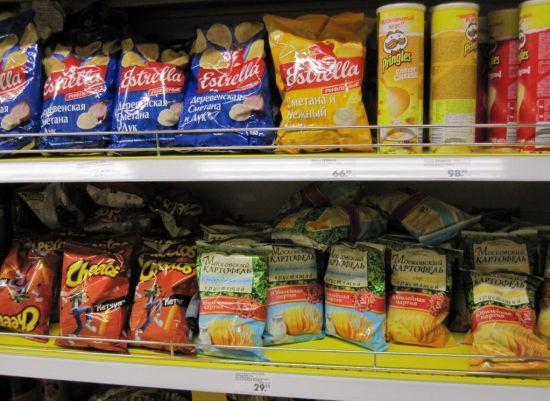 История чипсов