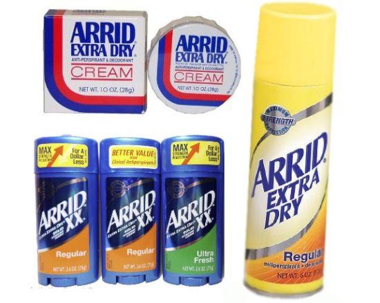 История дезодоранта