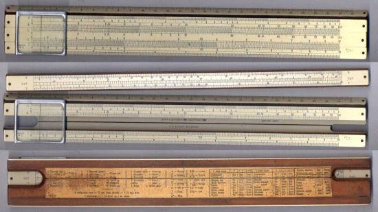 История логарифмической линейки