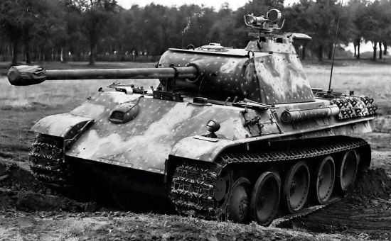 История танка «Пантера»