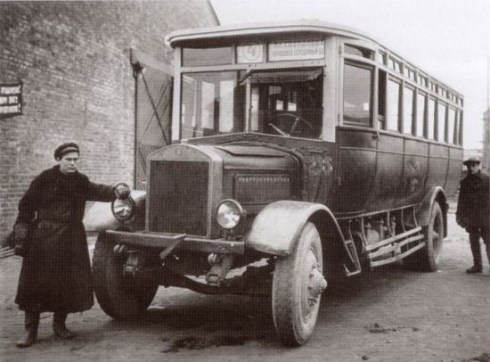 История автобуса
