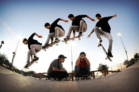 История скейтборда