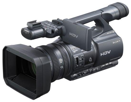 История видеокамеры