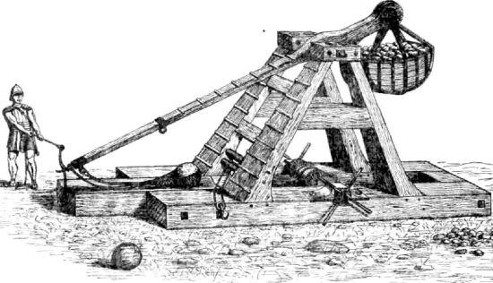 История катапульты