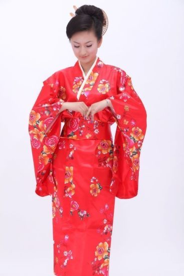 История кимоно