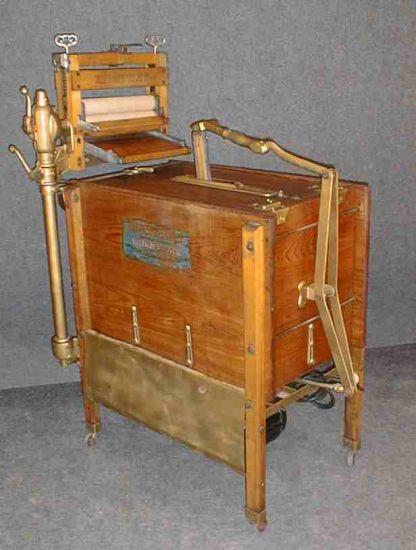 История стиральной машины
