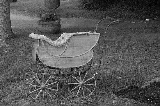История детской коляски