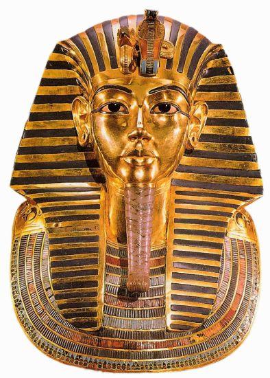 Золотая маска фараона Тутанхамона