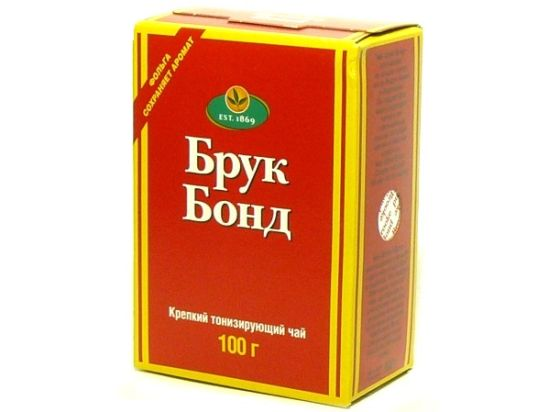 История чая «Brooke Bond»